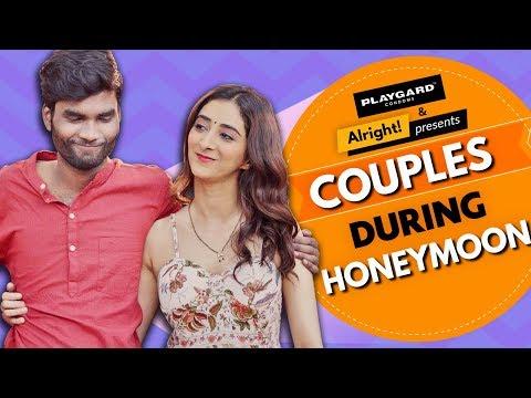 Couples During Honeymoon   Ft. Nikhil Vijay, Kritika Avasthi   What Happens After Suhaag Raat