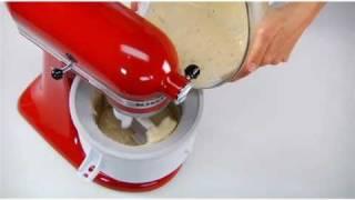 I Heart My Stand Mixer – Brown Butter-Pecan-Bourbon Ice Cream