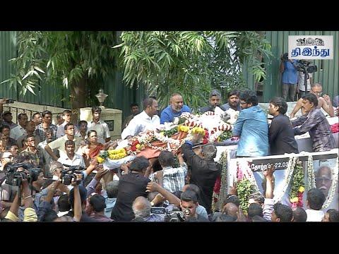 Veteran-Producer-Writer-Panju-Arunachalam-Funeral-Tamil-The-Hindu