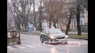 Циклон добрался до Николаева: идет снег