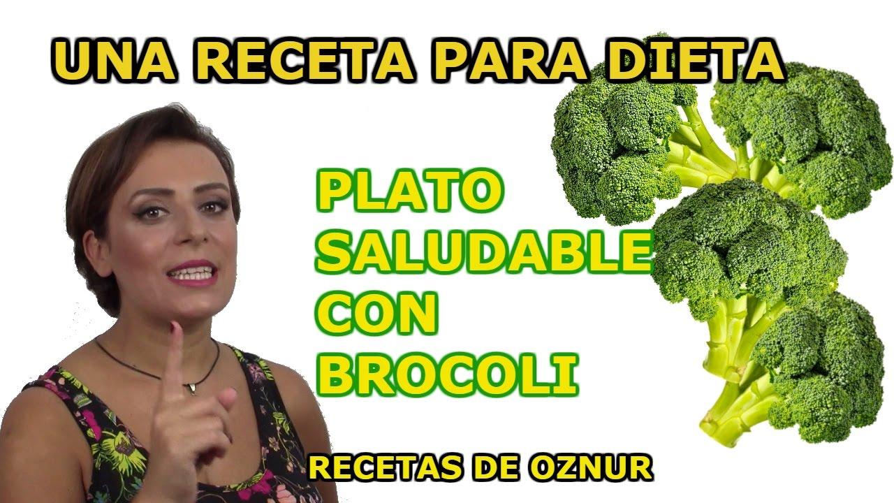 ENSALADA DE BROCOLI | recetas de cocina faciles rapidas y economicas de hacer - comidas ricas