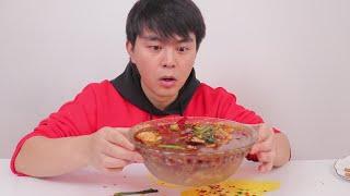 """自制一道饭馆级别的""""水煮肉片"""",麻辣鲜香,堪称米饭杀手"""