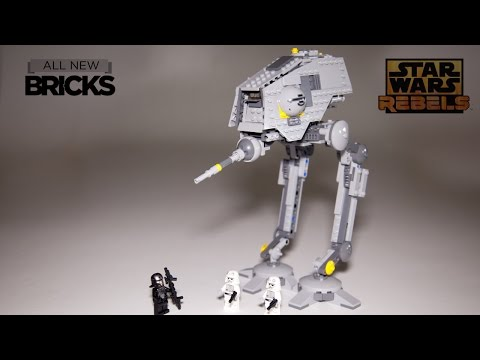 Vidéo LEGO Star Wars 75083 : Bipode AT-DP