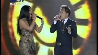 Anggun feat Sandhy Sondoro - Mantra - Kemilau Mandiri Fiesta 20121222 Makassar