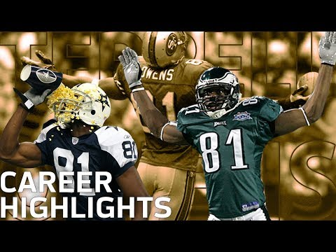 "Terrell Owens ""T.O.""  FULL Career Highlights   NFL Legends Highlights"