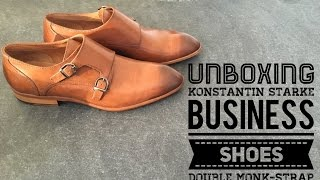 Konstantin Starke Double Monk-Strap Shoes | UNBOXING & ON FEET | Business Fashion | 2016 | HD