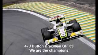 Top 10 F1 Radio Messages (Part 1)
