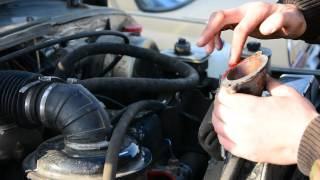 Замена термостата на автомашине УАЗ