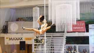 Mistrzostwa Polski Pole Dance 2012- Katarzyna Pustelnik- Opiełka