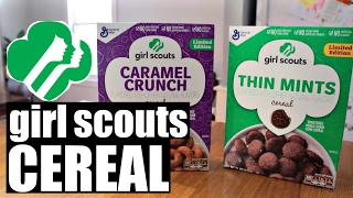 Girl Scouts CEREAL Taste Test