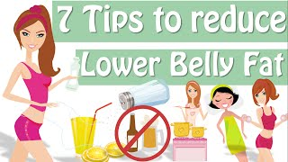 7 Tips How To Lose Lower Belly Fat, How To Get Rid Of Lower Belly Fat