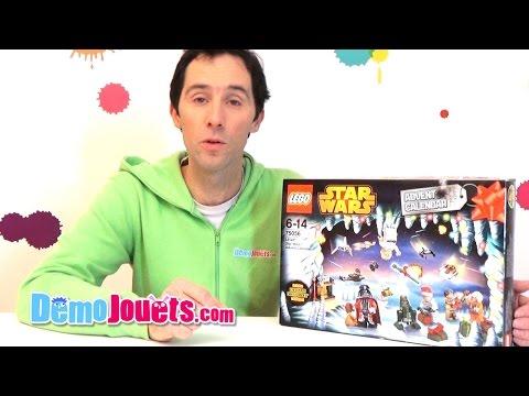 Vidéo LEGO Saisonnier 75056 : Le calendrier de l'Avent LEGO Star Wars 2014