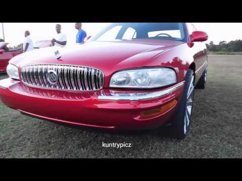 Buick park avenue on velocity wheels Kandy world custom carshow