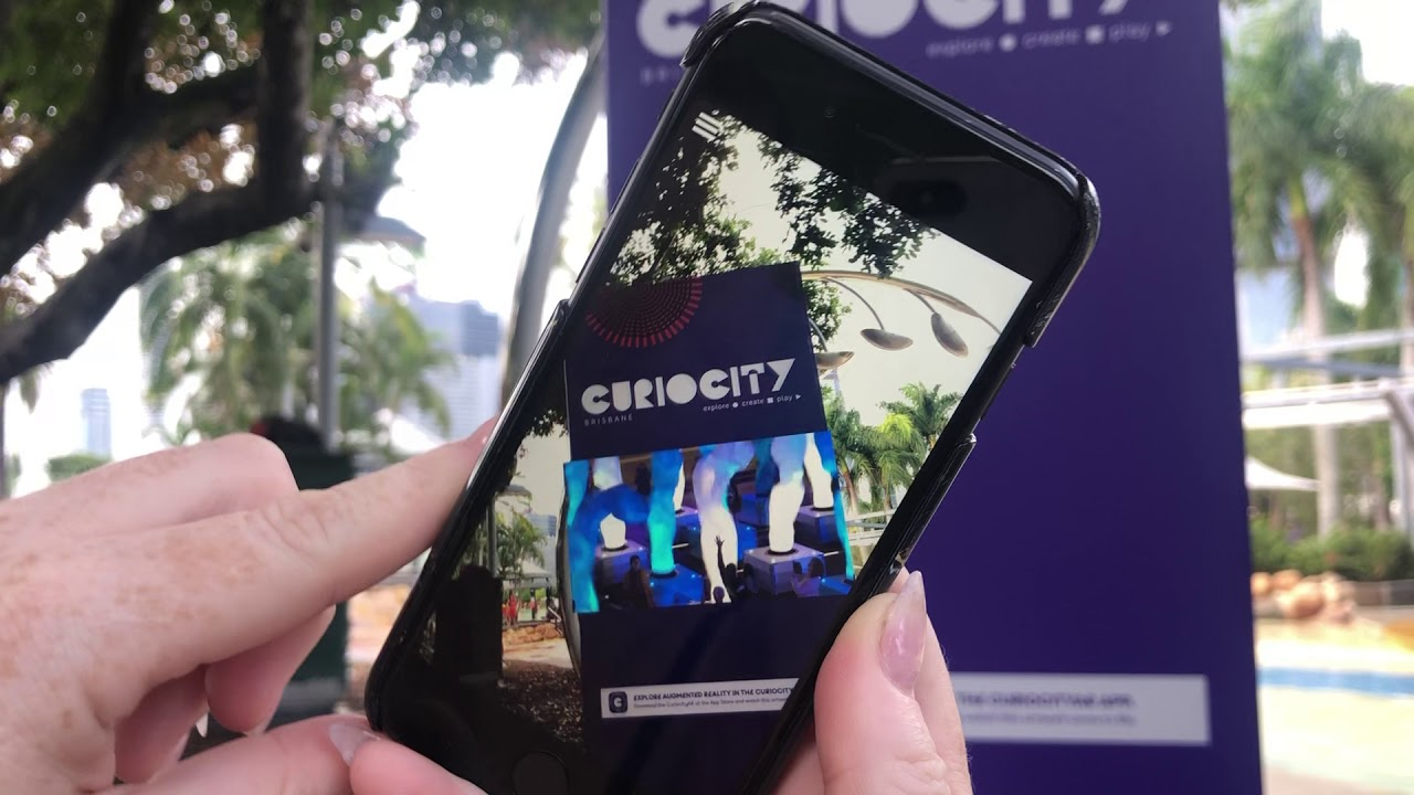 Curiocity Brisbane AR Wayfinders