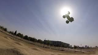 "Arrma Kraton 6s ""100 Foot Launch?"" With Outcast Hybrid Fun Run..."