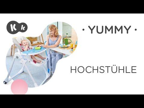 KinderKraft Yummy (Blau, Weiss, Violett, Gelb, Hochstuhl)