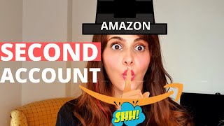Open second amazon seller central account - Running two amazon accounts