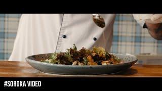 Видео презентация новых блюд. Ресторан Руккола. Киев
