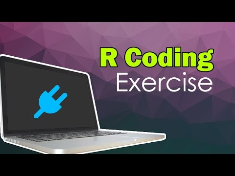 R Coding Exercise   Coding Basics   R-Tutorials.com