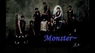 Super Junior - Monster (English Lyrics)