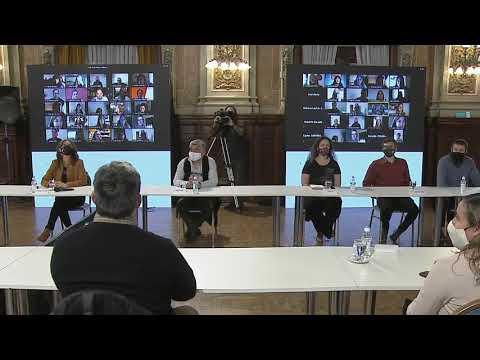 Presentación del programa Aulas del Bicentenario