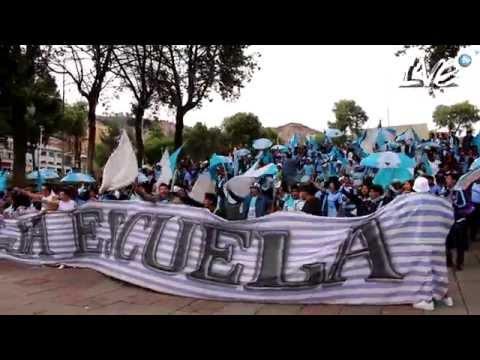 """BOLIVAR Vs. Wilsterman CARAVANA CELESTE LVE"" Barra: La Vieja Escuela • Club: Bolívar"