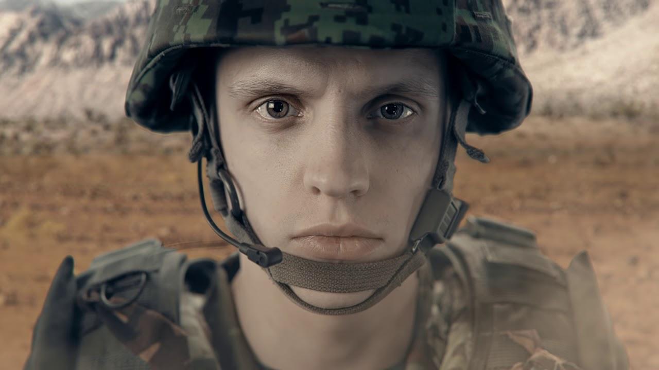 Эстонский солдат не боится никого...
