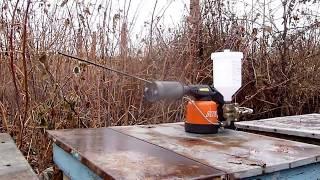 отравление семьи пчел при обработке из дым-пушки...