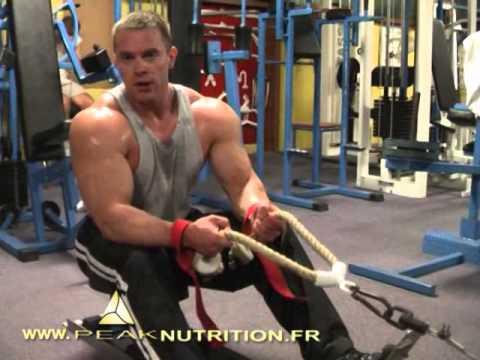 Le muscle jumeau réduit par la crampe