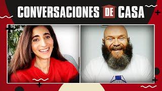 Alba Flores, Darko Peric & Hovik Keuchkerian: Conversaciones de Casa