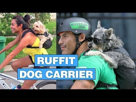 Ruffit Dog Carrier Backpack