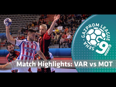 Match highlights: Vardar vs Motor Zaporozhye