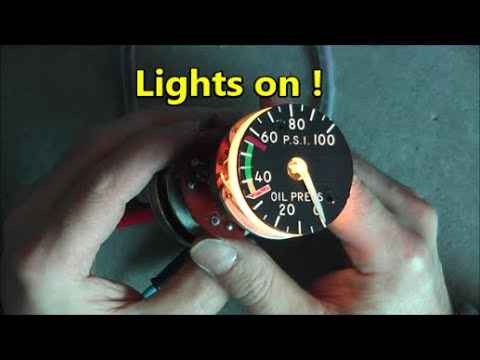 A random airliner oil pressure indicator teardown