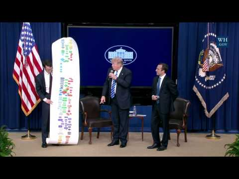 President Trump Hosts a CEO Town Hall on the American Business Climate