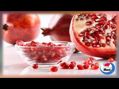 Beneficios y propiedades curativas de la granada fruta