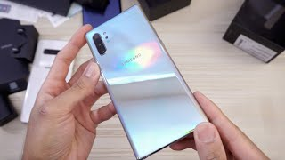 Samsung Galaxy Note 10 Plus Aura Glow UNBOXING! 🦄