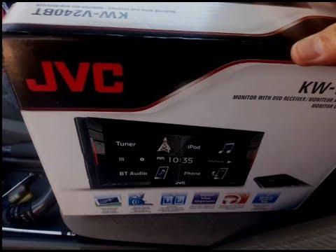 Nissan Pathfinder Bluetooth Car Stereo Install JVC KW