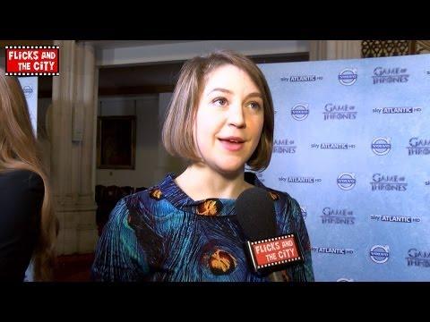 Game of Thrones Yara Greyjoy Interview - Gemma Whelan | MTW