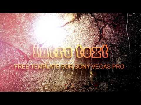 Скачать бесплатно #интро free intro Sony Vegas Pro 11/12/13 🔝🎞