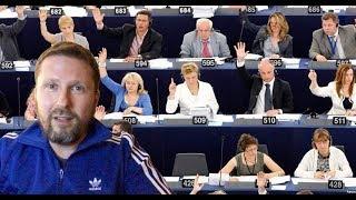 Украинские пенсиoнеры - привет Евpoпapламентy