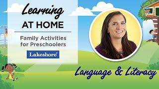 Language And Literacy Activities For Preschoolers