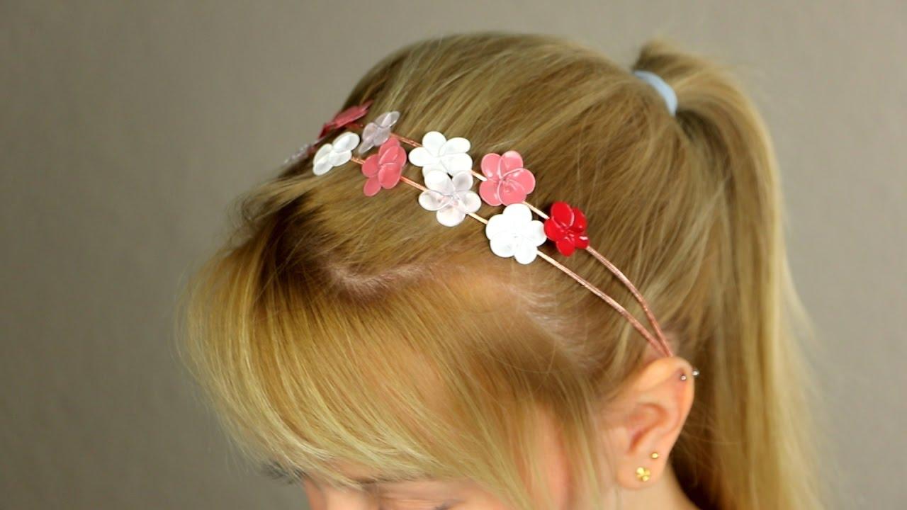 Use um arame e esmalte de unha para fazer presilhas de cabelo lindas
