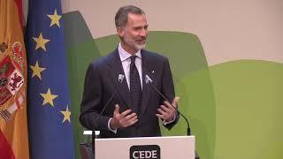 S.M. el Rey en la Clausura del XIX Congreso de Directivos CEDE