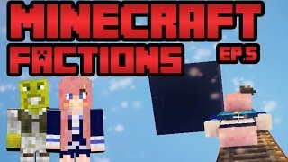 Sky Base Raiding! | Ep. 5 | Minecraft Factions with Smallishbeans