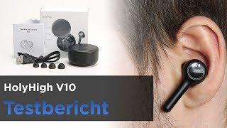 Holyhigh V10 im Test - Bluetooth InEar Kopfhörer - TWS-Modell mit Ladeschale