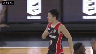 B1ハイライト10/12大阪vs福岡18-19B1第2節