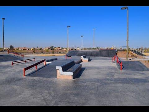 "Queen Creek Arizona Skatepark ""sk8parkatlas"""