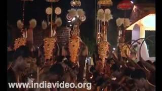 Ezhunnallippu at Sree Ramaswamy Temple, Kannur