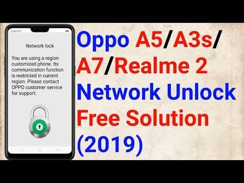 Oppo Flash With Oppo ID PASS : A3S,A5,A7,F7,F9,R17 PRO,FIND X,REALME