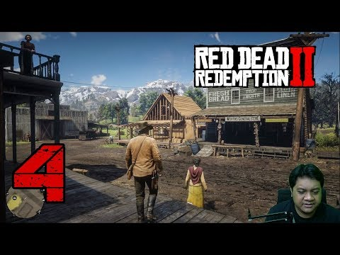 KUTURUT ARTHUR KE KOTAAA (4) Red Dead Redemption 2